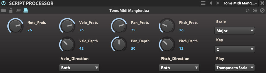 Toms Midi Mangler for UVI Falcon